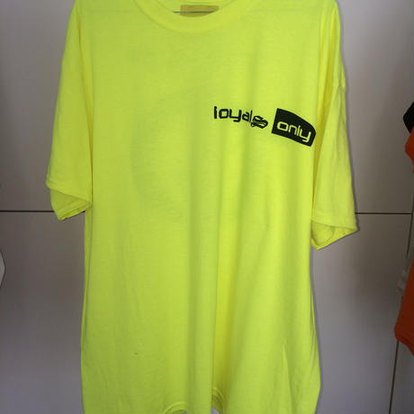 LOYALS ONLY ロイヤルズ オンリー TRAP Tshirt SAFETY GREEN