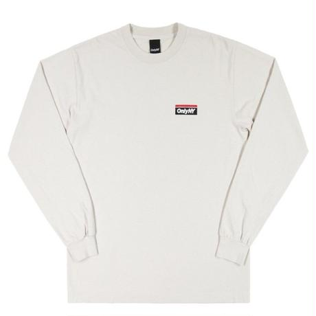 ONLY NY SUBWAY LOGO L/S T-SHIRT ONLY21 CEMENT