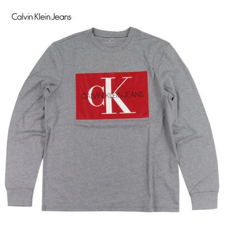 Calvin Klein Jeans カルバンクラインジーンズ ボックスロゴ ロンT メンズ トップス CK84