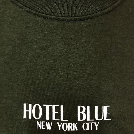 HOTEL BLUE  LOGO TEE ホテルブルー  FOREST GREEN HB27