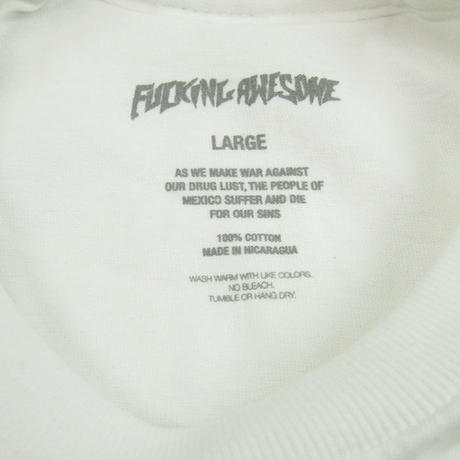 FUCKING AWESOME Vincent Class Photo Tee  WHITE Tシャツ FA17