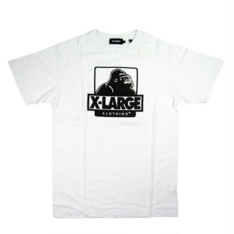 XLARGE S/S TEE OG LOGO メンズ XL14 WHITE