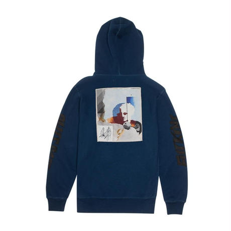 FUCKING AWESOME NAUTICAL ROME FRENCH TERRY HOOD スケーター ストリート メンズ トップス /FA15  NAVY