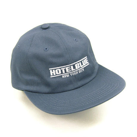 HOTEL BLUE SPEED RACER EMBROIDERED CAP HB-14 SLATE