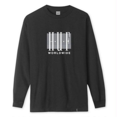 HUF LINEAR L/S TEE / HUF130 BLK