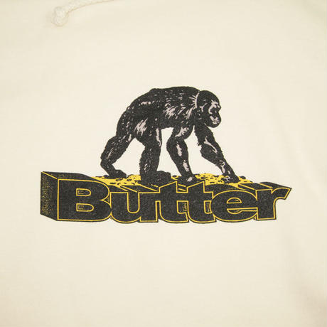 BUTTER GOODS Primate Pullover Hood バターグッズ パーカー メンズ トップス プルオーバーフード BONE  / BG30
