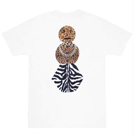 QUARTERSNACKS  SAFARI SNACKSMAN CHARITY TEE  QS11 WHITE