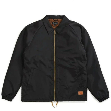 再入荷 BRIXTON CLAXTON COLLAR SHERPA JACKET MEN'S/BRIX348 BLACK