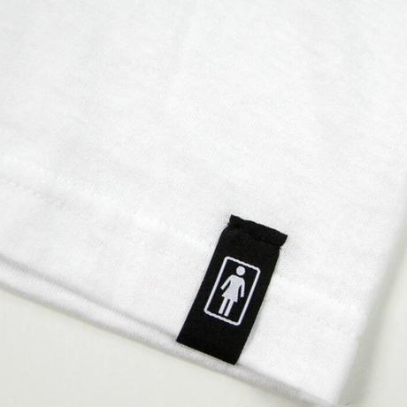 GIRL skateboards   Good Time Tee WHITE ガール Tシャツ GR19