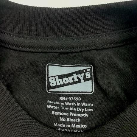 SHORTY'S FU TEE ショーティーズ メンズ  半袖Tシャツ SHO13 BLACK