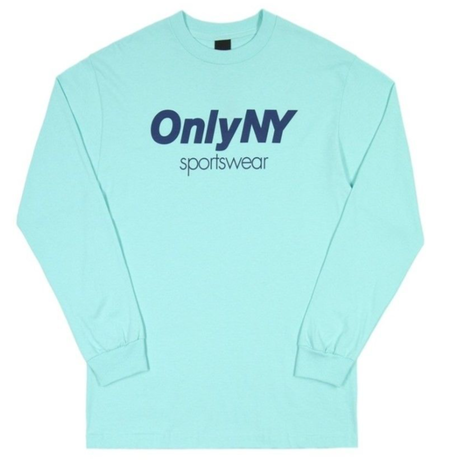 ONLY NYSPORTSWEAR L/S T-SHIRT / ONLY22 CELADON オンリーニューヨーク