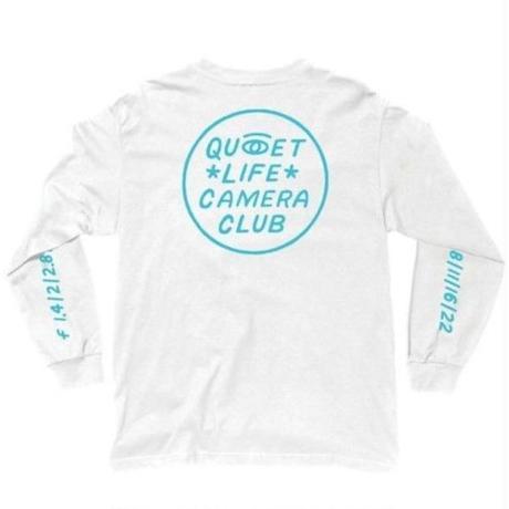 THE QUIET LIFE ザ クワイエットライフ Camera Club Eye Long Sleeve Tee メンズ トップス 長袖Tシャツ  WHITE  /QL20