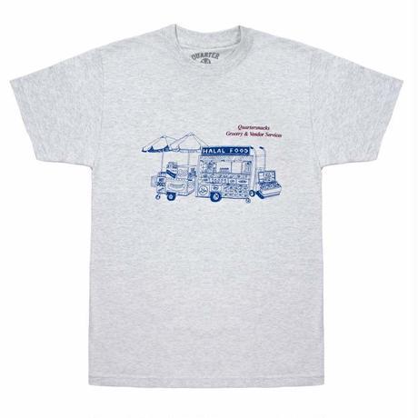 QUARTERSNACKS Vendor Services  Tee 半袖Tシャツ  スケーター ストリート メンズ Tシャツ