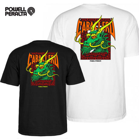 POWELL PERALTA  Caballero Street Dragon Tshirt メンズ パウエル  PW10