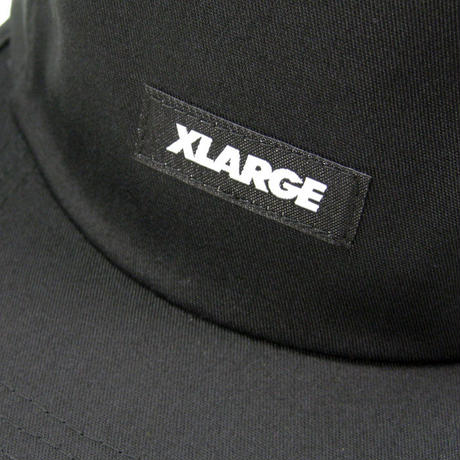 XLARGE PATCHED CAMP CAPT メンズ キャップ BLACK XL33