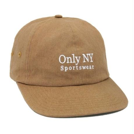 OnlyNY オンリーニューヨーク CAP キャップ GUIDELINE POLO HAT 6パネル メンズ ロゴキャップ ONLY20 AZTEC