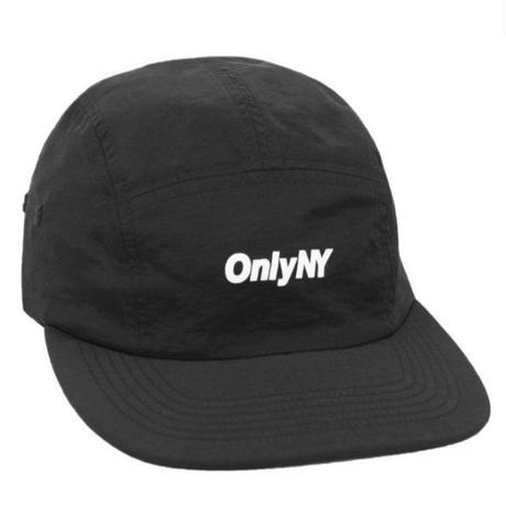 OnlyNY オンリーニューヨーク CAP Logo 5-Panel Hat メンズ ONLY10 BLACK