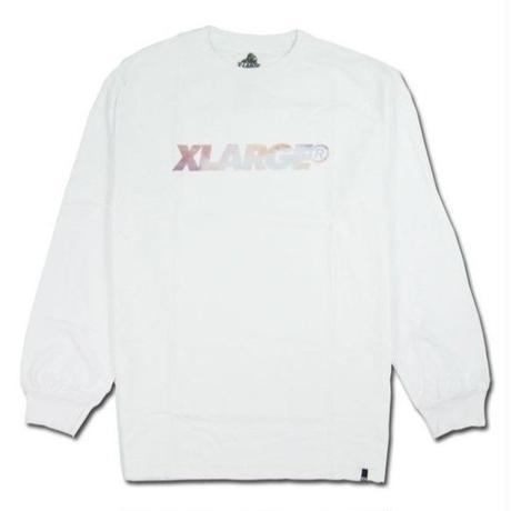 XLARGE エクストララージ  L/S TEE SUNSET STANDARD LOGO メンズ XL12  WHITE
