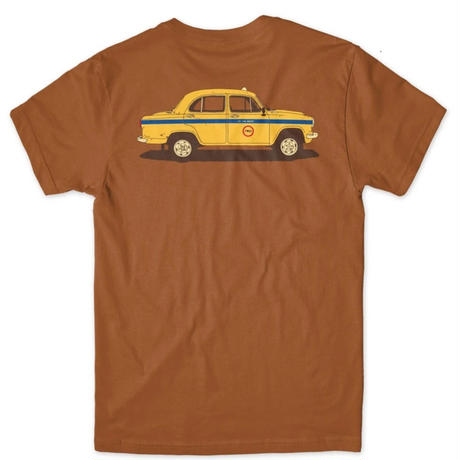 Chocolate Skateboards World Taxi S/S Tee チョコレート  Tシャツ Texas Orange cho15