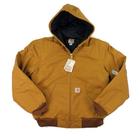 CARHARTT Duck Quilted Flannel-Lined Active Jacket J140 メンズ ジャケット アウター/ CHT28