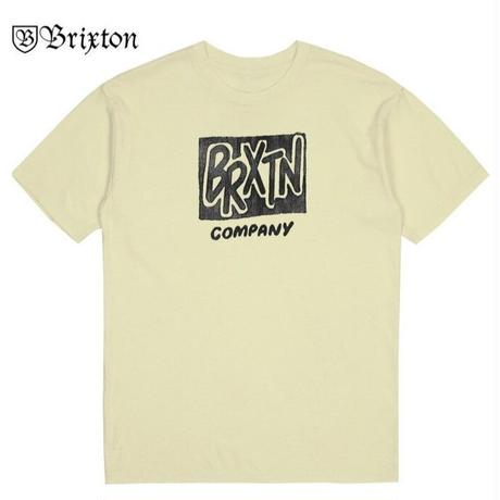 BRIXTON FILLER S/S STANDARD TEE BRIX389 OffWhite
