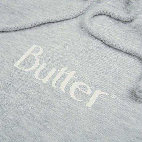 BUTTER GOODS Classic Logo Pullover Hood バターグッズ パーカー メンズ トップス プルオーバーフード  HeahterGrey BG37