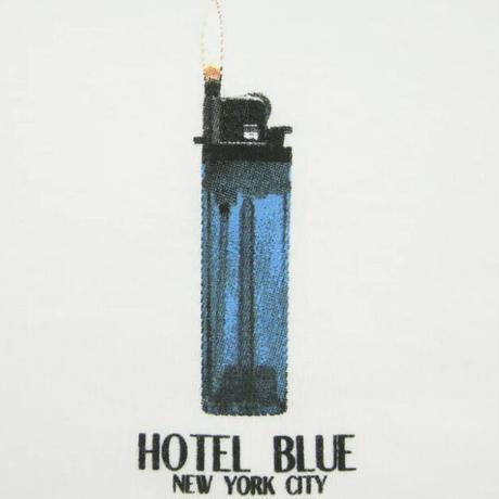 HOTEL BLUEL Lighter Tee HB White HB32 ホテルブルー