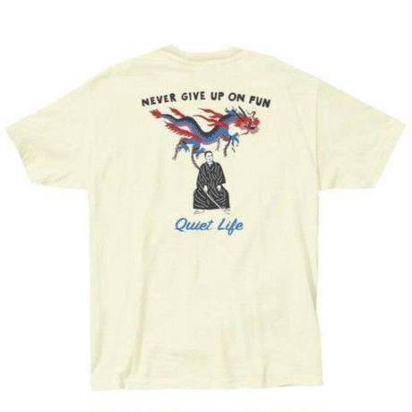 THE QUIET LIFE ザ クワイエットライフ  Tシャツ Never Give Up Tee メンズ トップス 半袖Tシャツ CREAM /QL23