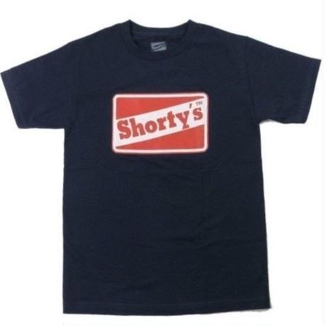 SHORTY'S OG LOGO TEE ショーティーズ オリジナルロゴ Tシャツ メンズ トップス Tシャツ スケーター  SHO12 NAVY