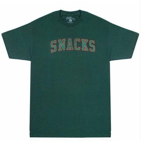 QUARTERSNACKS  Tシャツ VARSITY TEE  QS13  ForestGreen