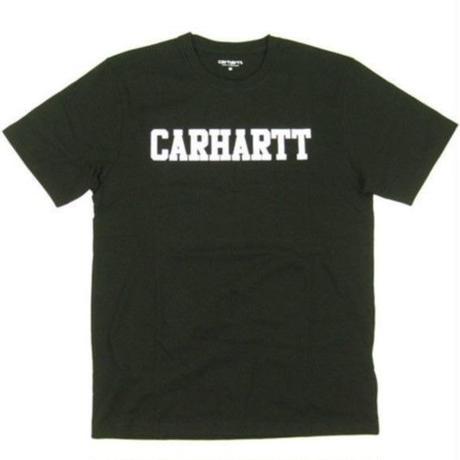 カーハート WIP CARHARTT WIP 半袖Tシャツ COLLEGE TEE メンズ Tシャツ BLACK Mサイズ / CHTWIP6  BLACK Mサイズ