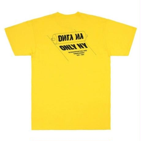 ONLY NY PRINTERS T-SHIRT ONLY18 LEMON