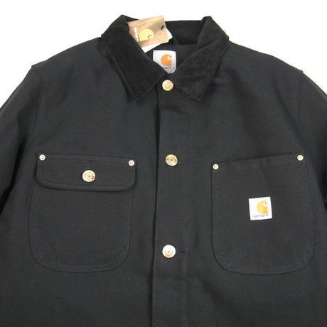 CARHARTT Duck Chore Coat  Blanket Lined 103825 BLACK / CHT12