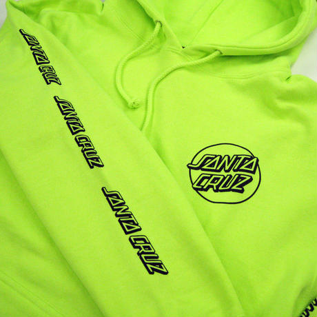 SANTA CRUZ  PULLOVER HOODED ヘビーウェイ プルオーバー/SC18  SafetyYellow