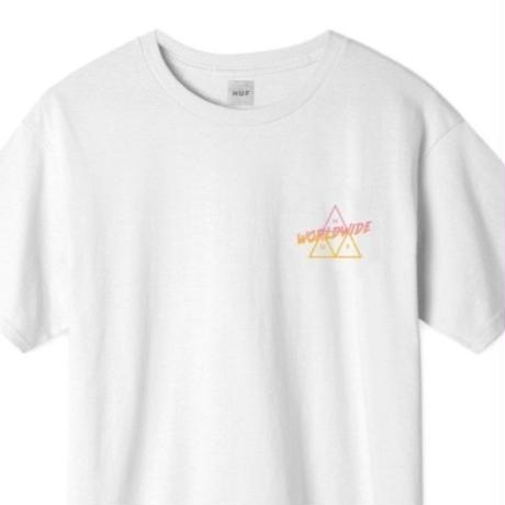 HUF ハフ Tシャツ Radical Triple Triangle TEE TS00759 HUF135 WHITE