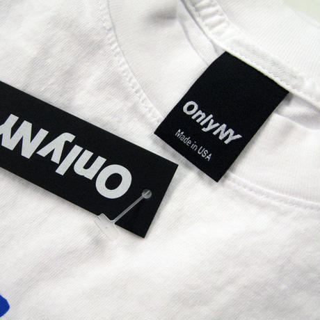 ONLYNY  Cinder Logo T-Shirt オンリーニューヨーク メンズ Tシャツ  WHITE  ONLY56