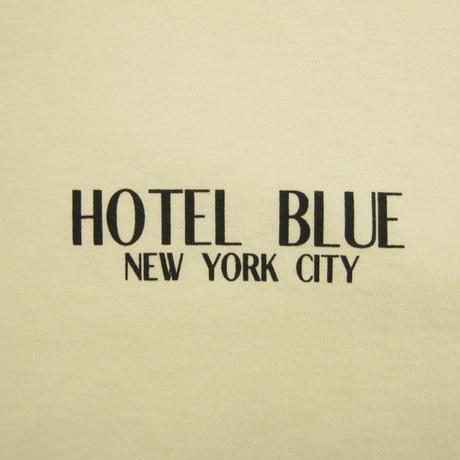 HOTEL BLUE  LOGO TEE ホテルブルー  CREAM  HB21