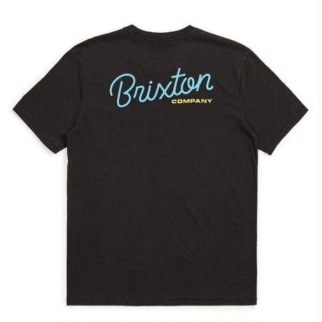 BRIXTON  KAISLER S/S PREM POCKET TEE メンズ BRIX392 BLACK