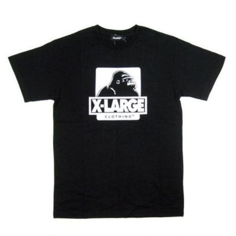 XLARGE S/S TEE OG LOGO メンズ XL14 BLACK