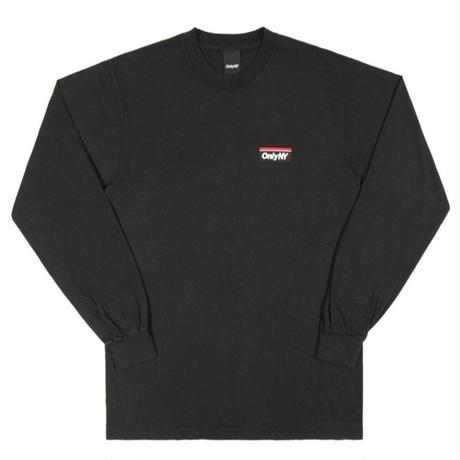 ONLY NY SUBWAY LOGO L/S T-SHIRT ONLY21 BLACK