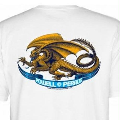 POWELL PERALTA Oval Dragon T-shirt メンズ パウエル  Tシャツ PW12