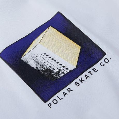 POLAR SKATE CO ISOLATION TEE WHITE PL34 ポーラースケートカンパニー