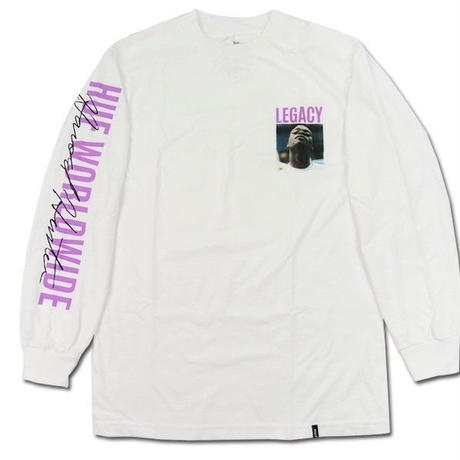 HUF ロンT HUF X Harold Hunter Foundation Legacy Long Sleeve Tee メンズ トップス 長袖Tシャツ /HUF110