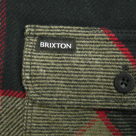 BRIXTON BOWERY LS FLANNEL ブリクストン ネルシャツ フランネル メンズ トップス 長袖シャツ HTGCH /BRIX336A