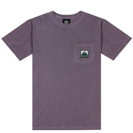 BELIEF NYC Elements Pocket Tee - Wine BL15