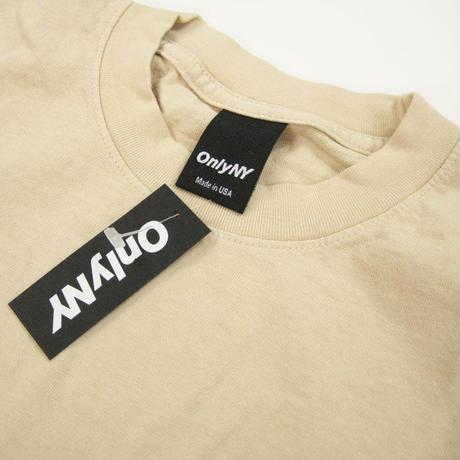 ONLYNY   Network T-Shirt  オンリーニューヨーク メンズ Tシャツ SAND ONLY69