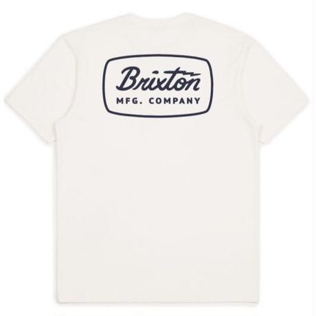 BRIXTON JOLT S/S PREM TEE メンズ BRIX370 OffWhite