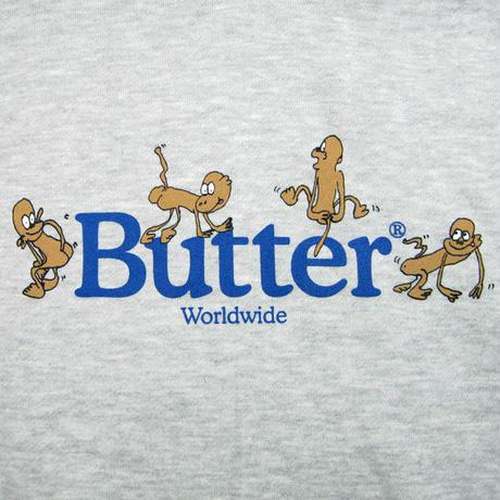 BUTTER GOODS  Monkey Pullover Hood バターグッズ パーカー メンズ トップス プルオーバーフード  HeatherGrey BG36