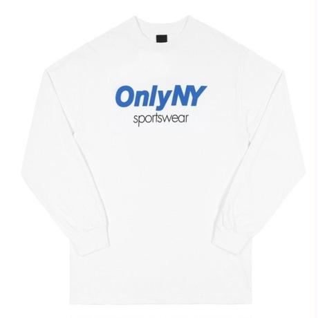 ONLY NYSPORTSWEAR L/S T-SHIRT / ONLY22 WHITE