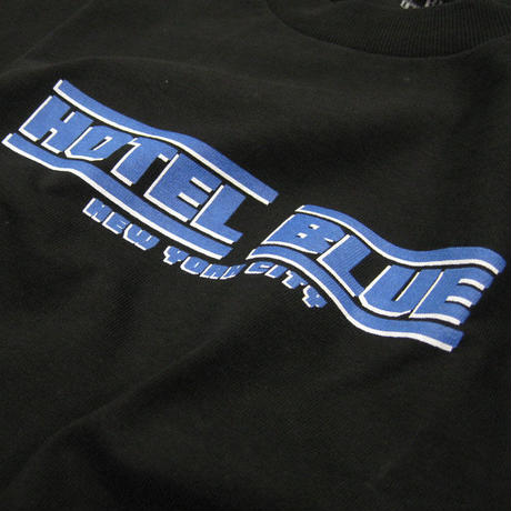 HOTEL BLUE SPEED RACER  TEE ホテルブルー  HB12 BLACK
